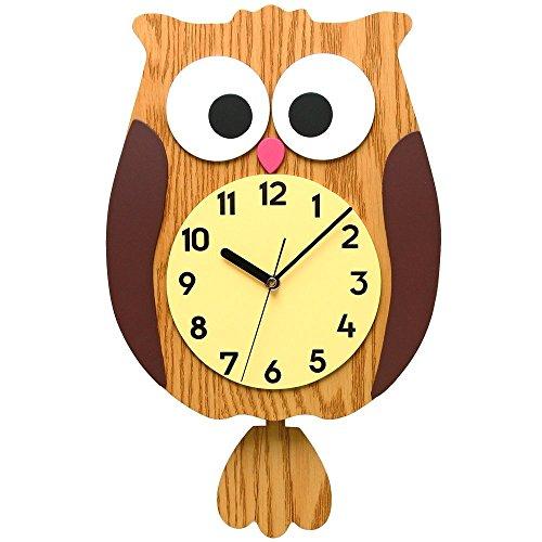 Pendulum Clock For Kids Room Amazoncom - Wall clock for kids room
