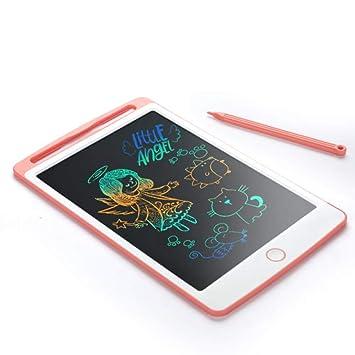 SCRIMEMO Tableta de Escritura LCD Color 10 Pulgadas, Tablero de Dibujo Gráfico Electrónico Pizarra Magica LCD Juguetes Educativo para Niños Oficina de ...
