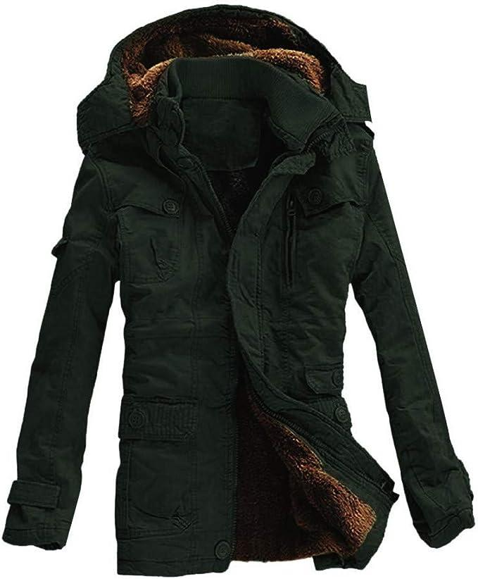 En Coton Hommes Chaud Avec D'hiver Rembourré Manteau BeQWrdCxo