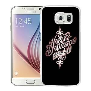 Personalization harley davidson 1 White Samsung Galaxy S6 G9200 Phone Case