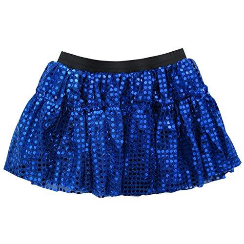 Buy black 2 in 1 sequin skirt dress - 5
