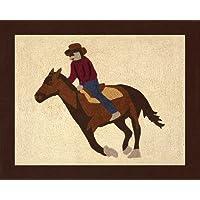 Sweet Jojo Designs Wild West Cowboy Accent Floor Rug