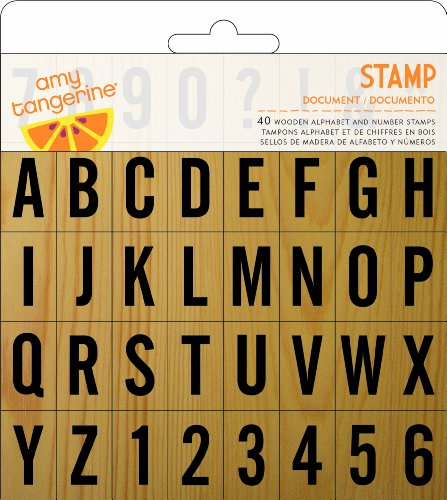 Price comparison product image American Crafts Yes Please Stamps Document