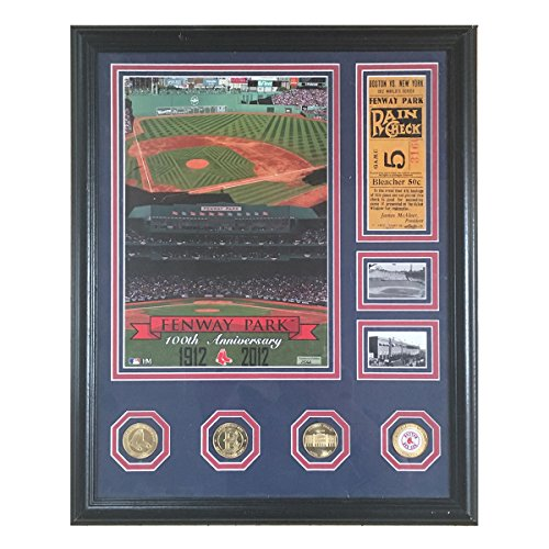 Boston Red Sox Fenway Park 100th Anniversary Limited Edition Photomint by Highland Mint