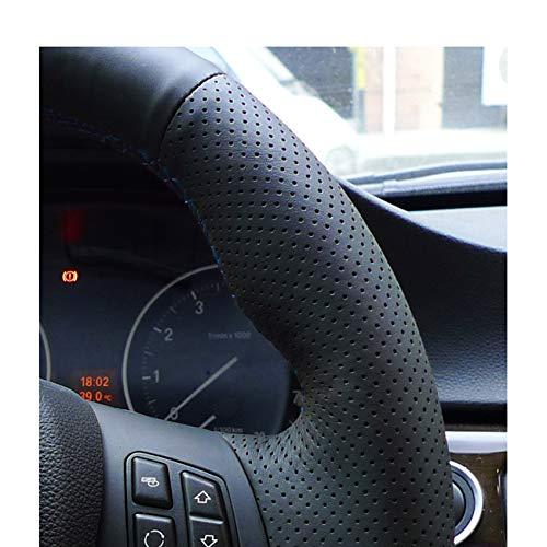 KDKDKLMB Couvre Volant Couverture Noire de Volant de Voiture de Cuir Artificiel dunit/é Centrale pour BMW M3 2009-2013 E92