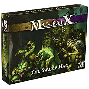 Wyrd Miniatures Malifaux Neverborn Zoraida Swamp Hag Model Kit
