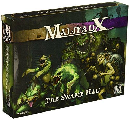 Wyrd Miniatures Malifaux Neverborn Zoraida Swamp Hag Model Kit 3