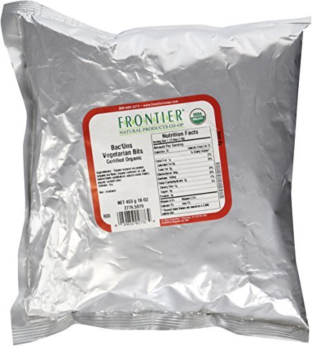 Bacuns Bacon - Frontier Natural Products Organic Bac'Uns Bacon Flavored Soy Bits -- 1 lb by Frontier