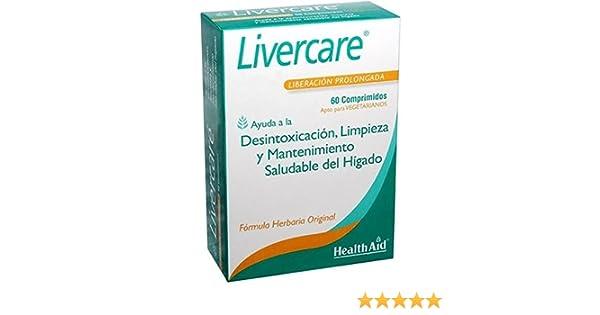 Livercare 60 comprimidos de 1,4 g. de Health Aid: Amazon.es: Salud ...