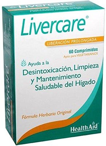 Livercare 60 comprimidos de 1,4 g. de Health Aid
