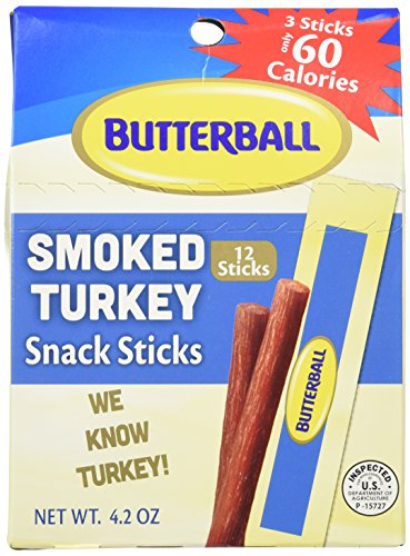 Butterball Smoked Turkey Snack Sticks 4.2 oz - 2 pack ()