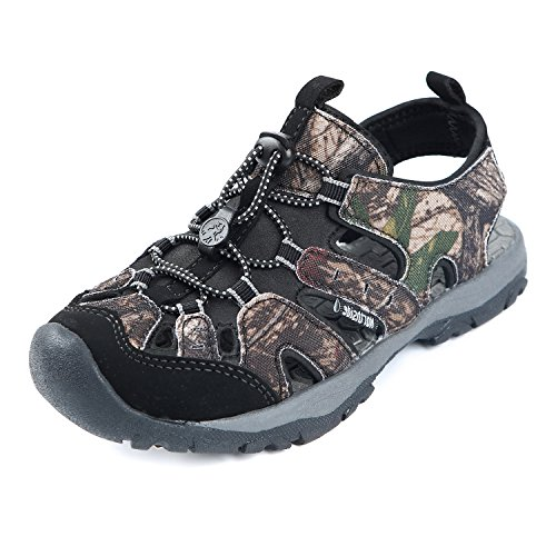 Toddler Fisherman Sandals (Northside Burke II Athletic Sandal,Brown Camo,1 M US Little Kid)
