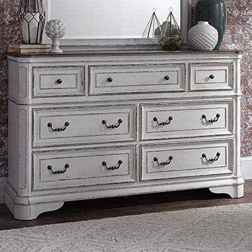 Liberty Furniture Industries Magnolia Manor 7 Drawer Dresser