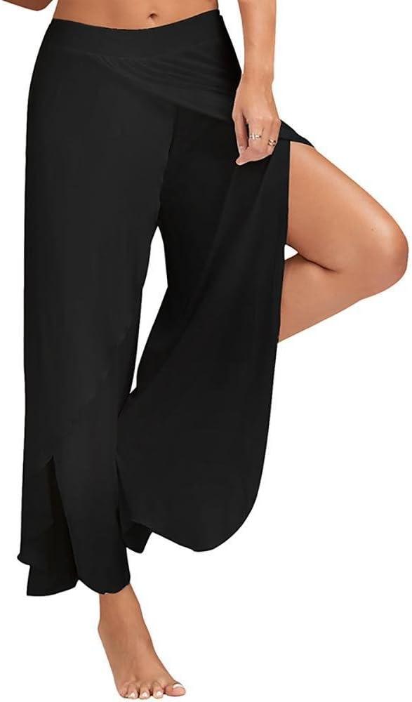 jogging nero nero m Swallowuk Pantaloni alla turca da donna elasticizzati ideali per lo sport il ballo yoga