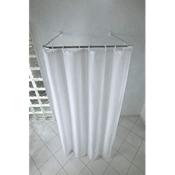 Amazon Com 36 Quot Indoor Outdoor Removable Shower Curtain