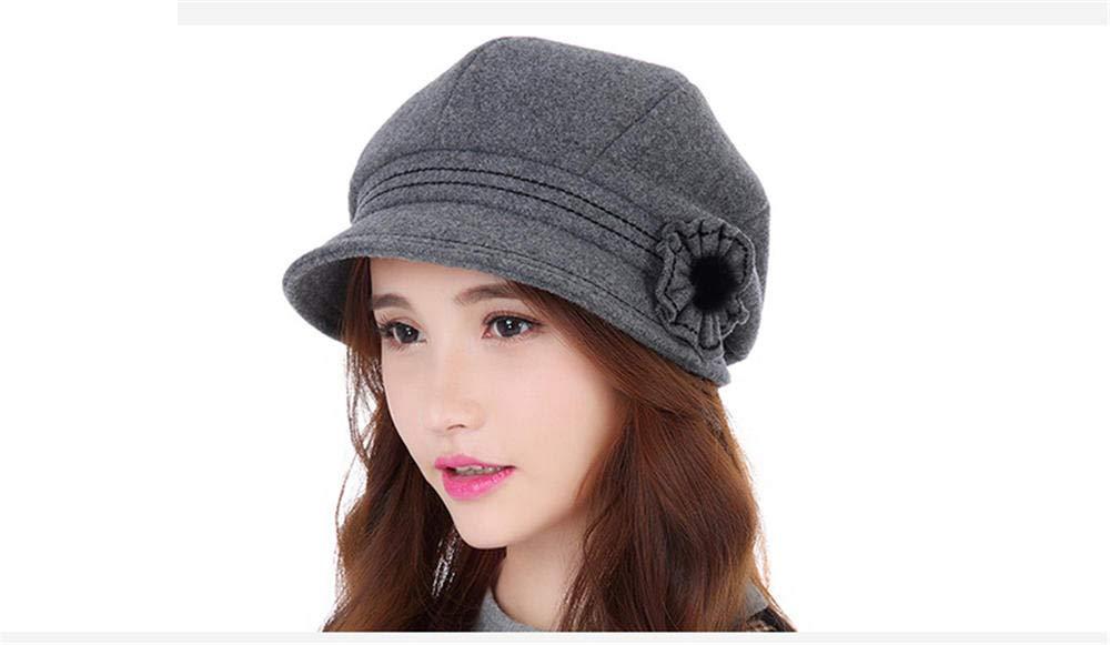 Ladies Summer Women's Spring Autumn Simple Beray Foldable Sun Hat Gray