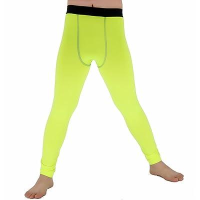 Lanbaosi Boys & Girls Sports Thermal Compression Base Layer Legging/Tights