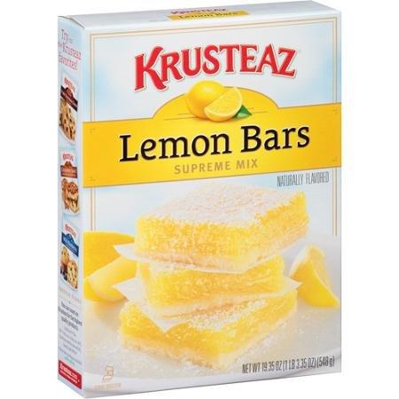 Krusteaz Lemon Bar Supreme Mix, 19.35 Oz
