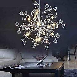 MAMEI™15 Lights LED Modern Crystal Chandelier Lighting for Living Room,Dining Room,Bedroom.