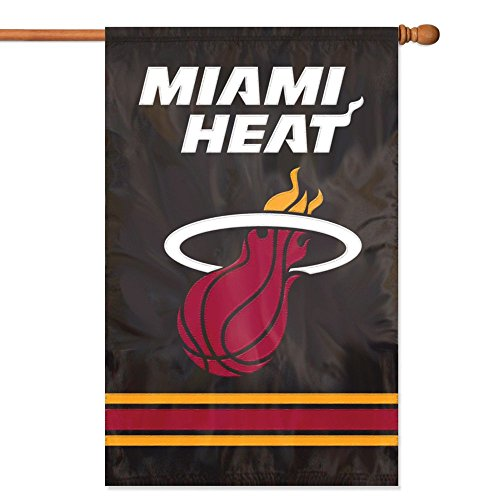 Party Animal Miami Heat Banner NBA Flag -