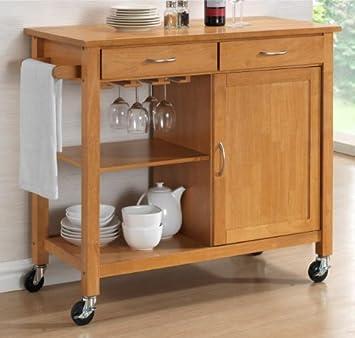 Your Price Furniture Harrogate Natural Hevea Hardwood Kitchen ...