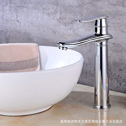 qingtianlove Grifo de Fregadero de jardín de latón Creativo rodeado de Elegante baño Mezclador de Cocina: Amazon.es: Hogar