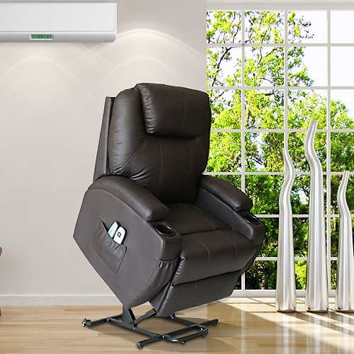 Magic Union Power Lifted Massage Chair With Heating Recliner Sofa