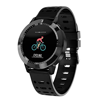 VEHOME Smartwatch Deportivo Pulsera de Actividad Inteligente Reloj-Reloj Inteligente a Prueba de Agua del Monitor de Ritmo cardíaco/presión Arterial/oxígeno ...
