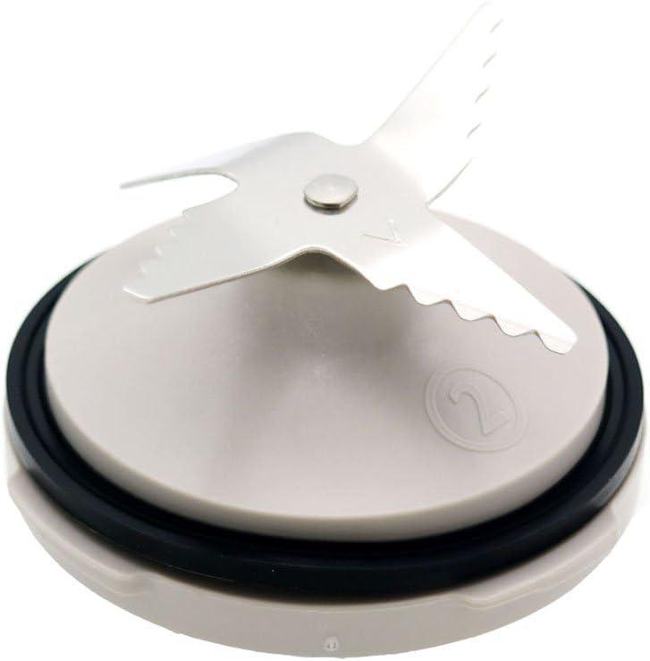 Batidora de repuesto cuchilla cuchillo unidad incluye anillo de sellado para Philips HR7627 HR7628 HR7629 HR7761 HR7762 para exprimidor licuadora partes: Amazon.es: Hogar