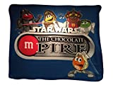 chocolate mpire - M&M Star Wars The Chocolate M-Pire Fleece Blanket Character 100% poliester 50