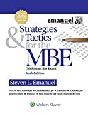 Strategies and Tactics for the MBE (Emanuel Bar Review)