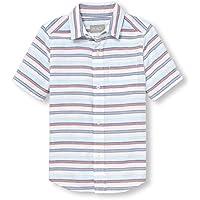 The Children's Place Boys' Short Sleeve Button-Up Shirt