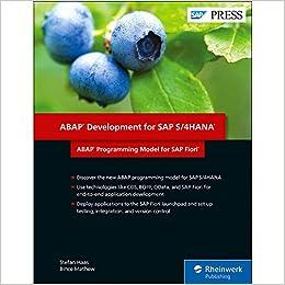 Buy ABAP Development for SAP S/4HANA: ABAP Programming Model for SAP