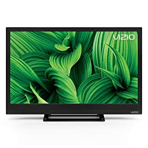 Vizio D24HN-E1 24-Inch Edge-Lit LED TV (2017 Model) (Certified Refurbished)