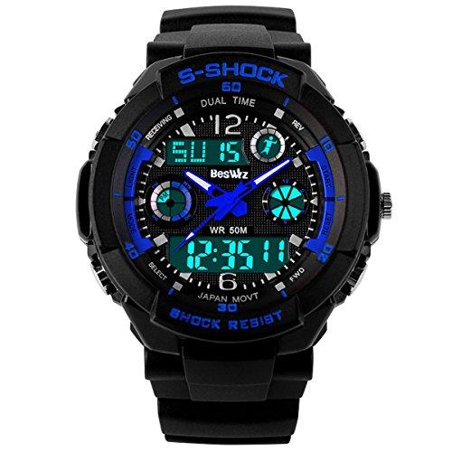 beswlz-unisex-sport-watch-multifunction-green-led-light-digital-waterproof-s-shock-wristwatchblue