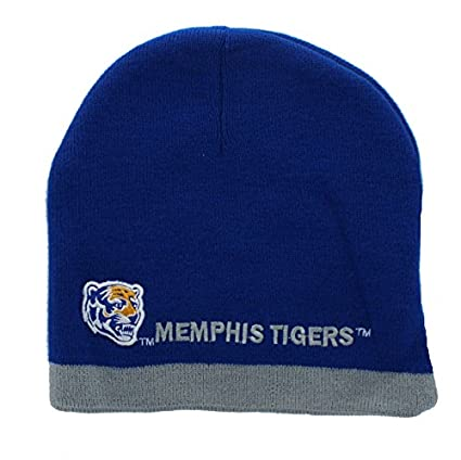 13ecf88be80 ... coupon for memphis tigers embroidered beanie hat knit skull cap 7fe58  de907