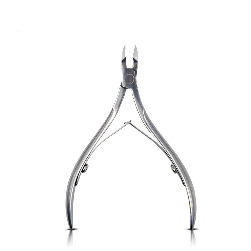 Equipment 1 X Stainless Steel Toe Cuticle Nipper Trimmer Cutter Nail Art Clipper High Quality Fashiongallery
