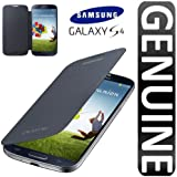 Samsung Galaxy S4 Flip Cover Folio Case (Black)
