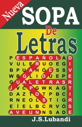 Nueva SOPA De Letras (Volume 1) (Spanish Edition)