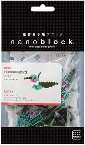 japan building toy block NBC-078 worldwide Kawada Nanoblock Mini Hummingbird