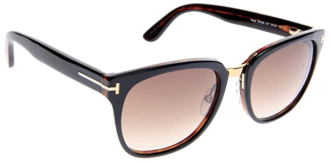 57383b8ba6 Image Unavailable. Image not available for. Color  Tom Ford Rock TF 290 01F  Shiny Black ...