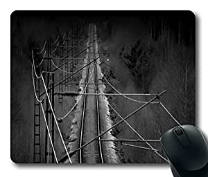 Railtrack Mouse Pad Desktop Laptop Mousepads Comfortable Office Mouse Pad Mat Cute Gaming Mouse Pad