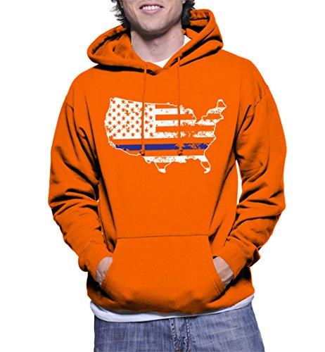 Usa Map Mens Hoodie - 5