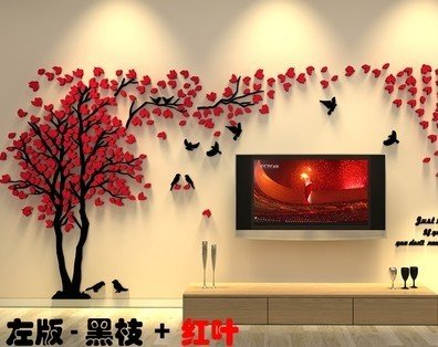 Buy EasyBuy India 3D Big Tree Wall Murals For Living Room Bedroom ...