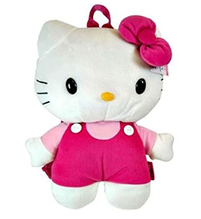 Amazon Com Sanrio Hello Kitty Plush Doll Backpack Toys Games