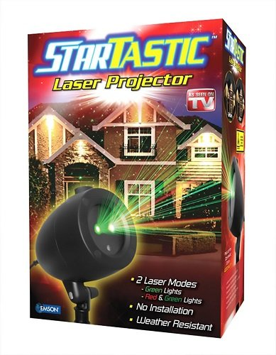 StarTastic 1827 Holiday Laser Light Show, Static Features As Seen on TV - Holiday Laser