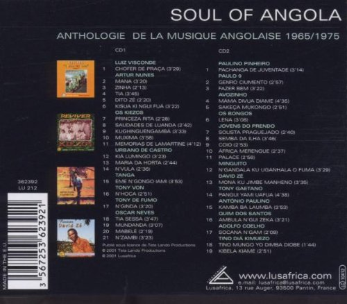Soul of Angola Anthology 1965-1975