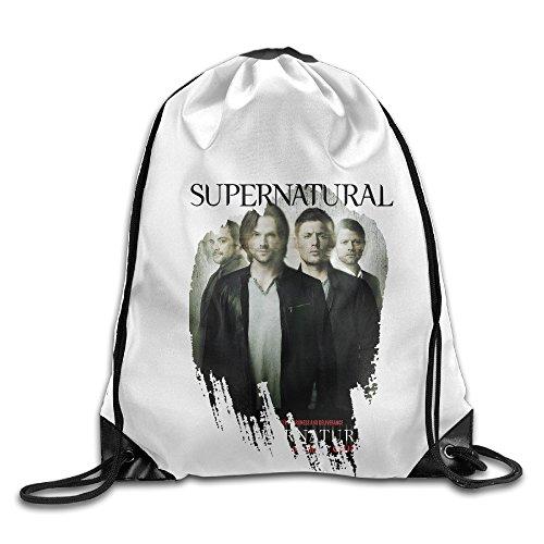 Bekey Supernatural Gym Drawstring Backpack Bags For Men & Women For Home Travel Storage Use Gym Traveling Shopping Sport Yoga - Timberlake Blazer Justin