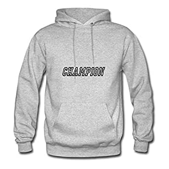 Champion Hot X-large Sweatshirts Custom For Women Grey