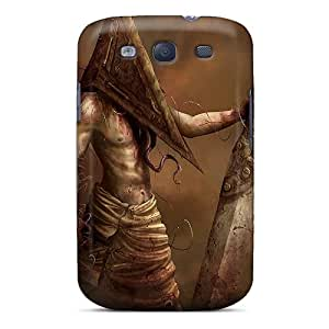 Matthorales Fashion Protective Pyramid Head Case Cover For Galaxy S3